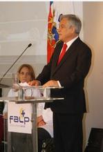 Inauguración Piñera Ciclotrón