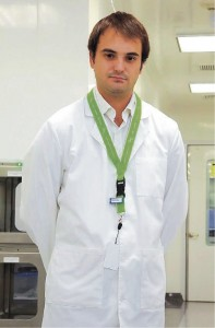 Andrés Amaral, project manager PositronPharma.