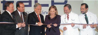 Inauguración Ciclotrón Piñera